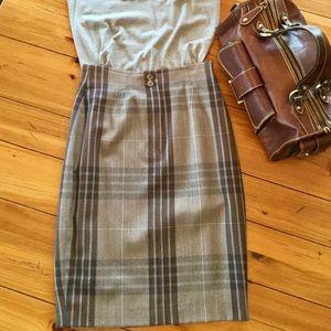 CRISCA by ESCADA Killer Pencil Skirt Vintage Wool